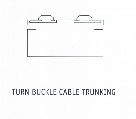 TURN BUCKLE CABLE TRUNKING
