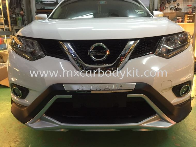NISSAN X-TRAIL 2015 V2 BUMPER GUARD SET  X-TRAIL 2015 NISSAN