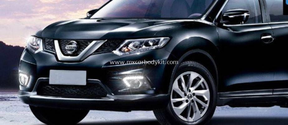 NISSAN X-TRAIL 2015 FOG LAMP COVER WITH LED