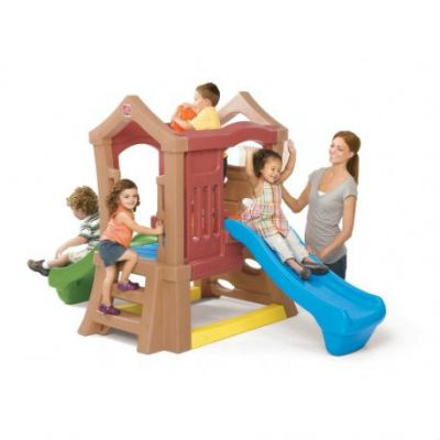 S2-80000 Play Up™ Double Slide Climber