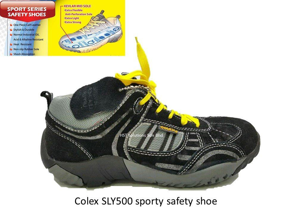 16059f0b9a1 Colex SLB500 sporty safety shoe (2) Safety Shoes Building and ...