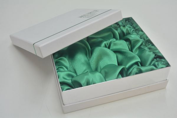 Box with Satin Cloth Nesting