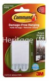 COMMAND MEDIUM (W) PICTURE HANGING STRIP 6PK/BAG  COMMAND PICTURE HANGING STRIPS. 3M
