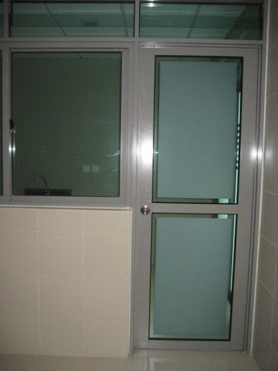 Kitchen Frosted Glass Door