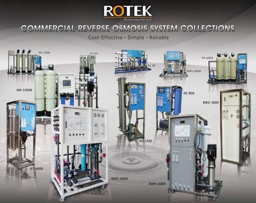 ROTEK RO SYSTEM RD SERIES