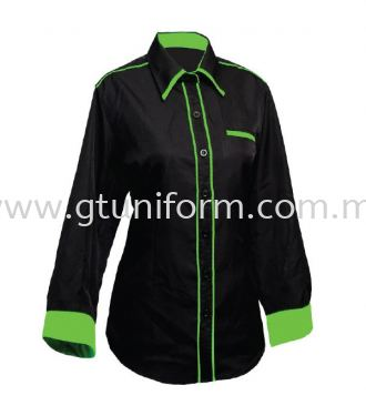 READY MADE UNIFRORM F0410 (Black & A.Green )