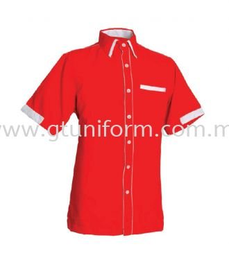 READY MADE UNIFORM M0401 (Red&White)