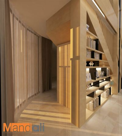 Staircase Area Design Serama Bungalow