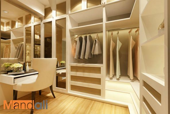 Walk In Wardrobe Design Plentong