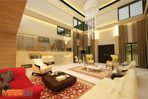 Living Hall Design Permas Jaya
