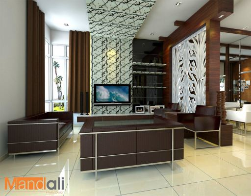 Living Hall Design Ulu Tiram