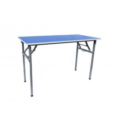 Q011FLH Rectangular Table wt Foldable Legs (2'x4')(76cm)