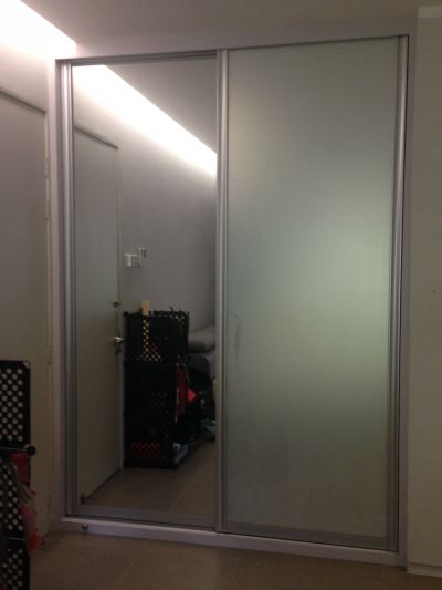 2) Mirrored Door (Before & After)