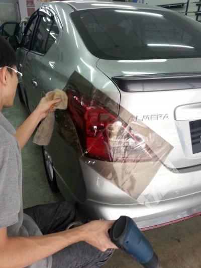 Nissan Almera - Car Rear Lamp Tint