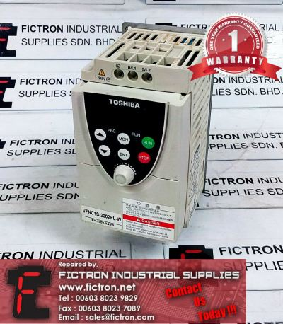 Repair Service in Malaysia - VFNC1S-2002PL-W TOSHIBA 0.2kW Transistor Inverter Singapore Indonesia
