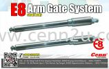 E8  Arm Gate System ( Steel Color) Arm System Autogate