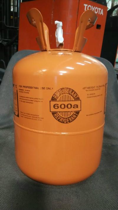 R600a Refrigerant Gas (6.5kg) Disposable Cyld (Aurora)