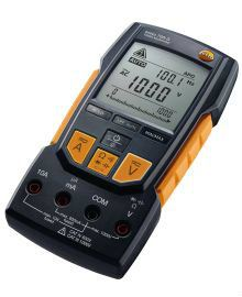 Testo 760-3 - Digital Multimeter with Auto-Test, Capacitance, TRMS, Low Pass Filter, and 1000 V
