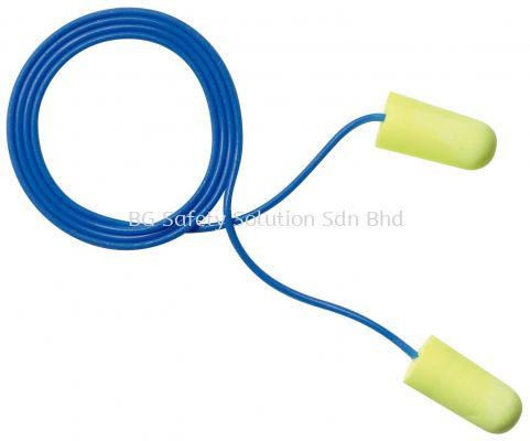 <3M> E-A-Rsoft Yellow Neons Corded Earplugs