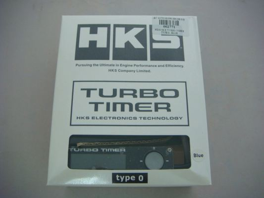 HKS 1021B TURBO TIMER TYPE O (BLUE) (S/N: 002771)