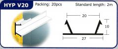 HYP V20 PVC Groove Joint