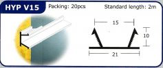 HYP V15 PVC Groove Joint