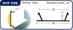 HYP V50 PVC Groove Joint