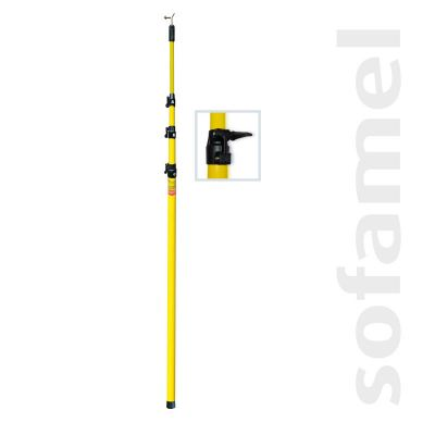 Telescopic Poles - 4/6  (4 sections)