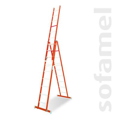 Step Ladder with Extendable Section