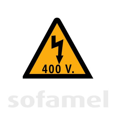 Electrical Hazard 400V