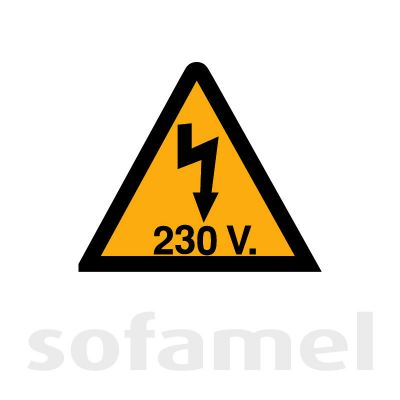 Electrical Hazard 230V