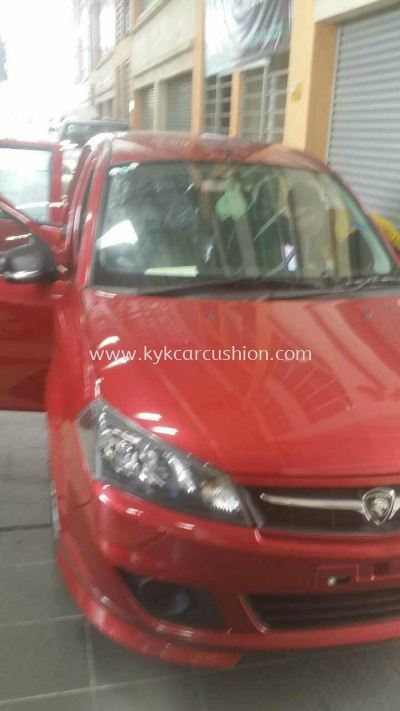 Proton Saga New Car Leather Seat