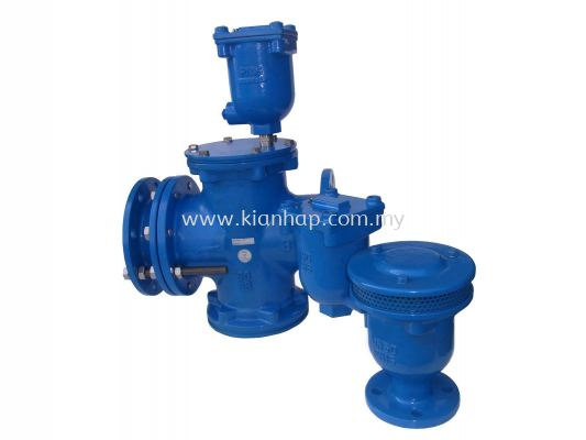 3in1 Strainer Valve and Air Valve
