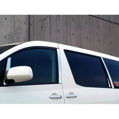 Toyota Alphard door chrome garnish