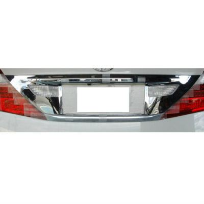 Toyota alphard rear plate chrome garnish