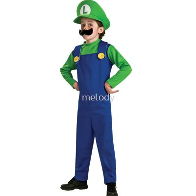 Super Mario Kid Green (1006 0102)