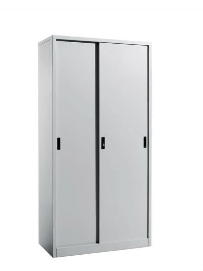 Full Height Cupboard Steel Sliding Door
