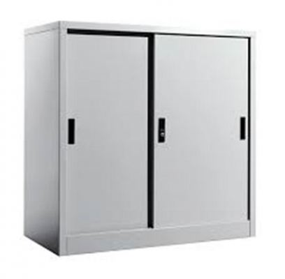 Half Height Cupboard Steel Sliding Door