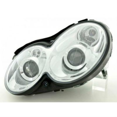 Head Lamp Crystal Double Projector W/Vacuum ( H7 )