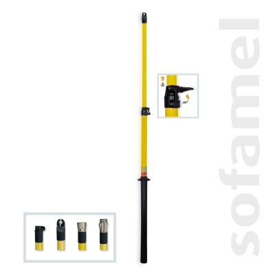 Telescopic Poles - 5/9  (5 sections)