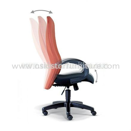 CONFI SPECIFICATION - EXTRA MOTION OF THE BACKREST DURING RECLINE AUTOMATICALLY ADJUSTS TO ENSURE CORRECT POSITION