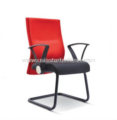 IMAGINE VISITOR CHAIR WITH EPOXY BLACK CANTILEVER BASE ASE 2394