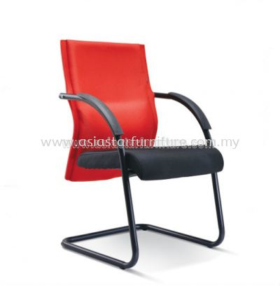 IMAGINE VISITOR CHAIR WITH EPOXY BLACK CANTILEVER BASE ASE 2395