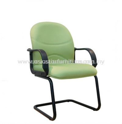 KIND VISITOR CHAIR WITH EPOXY BLACK CANTILEVER BASE ASE 8005