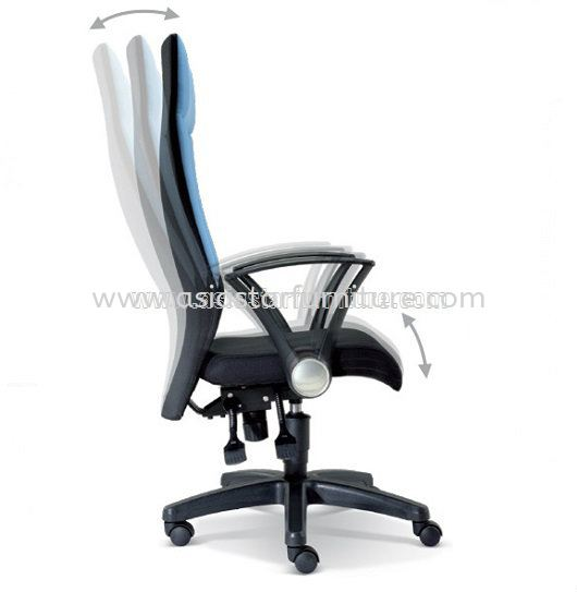 AMAXIM SPECIFICATION - EXTRA MOTION OF THE BACKREST DURING RECLINE AUTOMATICALLY ADJUSTS TO ENSURE CORRECT POSITION