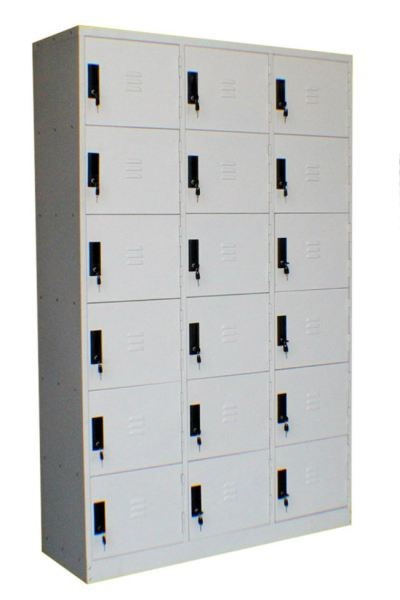 18 Compartment Locker - 457D