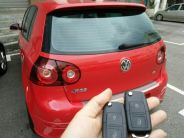 Volkswagen Golf R32, all key lost, job done