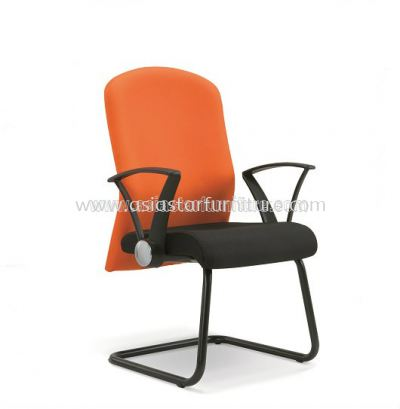 MOST VISITOR CHAIR WITH EPOXY BLACK CANTILEVER BASE ASE 284