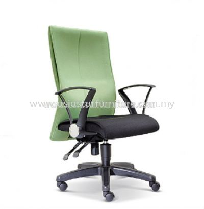 RISE MEDIUM BACK CHAIR WITH POLYPROPYLENE BASE ASE 121