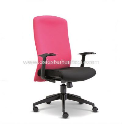 SKILL MEDIUM BACK CHAIR WITH ROCKET NYLON BASE ASE 2192